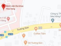 Chính chủ cần bán đất Đường Trường Sơn, Xã Hòa Nhơn, Huyện Hòa Vang, Tp. Đà Nẵng