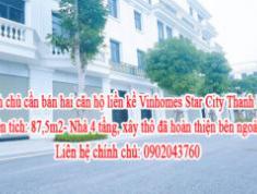 Chính chủ cần bán hai căn hộ liền kề Vinhomes Star City Thanh Hoá