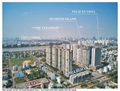 Chính chủ cần bán Feliz En Vissta Sky Mansion 4PN 240m2 rẻ hơn thị trường 700 tr LH: 0908 03 6689