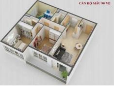 Cho thuê Căn hộ 3 phòng ngủ view Lanmark