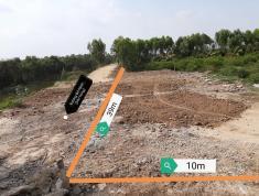 Bán lô đất nền đẹp vuông vắn gần TL 839, Đức Huệ, Long An