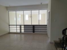 Villa Thảo Điền cho thuê, nhà trống, 9.5x25, trệt, lửng, 1 lầu.