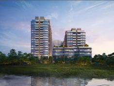 Nhận booking căn hộ Pool Villa The River Thủ Thiêm quận 2, có hồ bơi + thang máy riêng. LH 0332040992