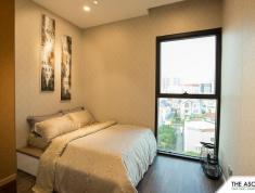 The Ascent Thảo Điền 104m2, 3 phòng ngủ, toàn cảnh view sông và biệt thự, giá thuê 28 triệu.