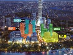 NARA 3PN (DT 142.9 m2) Giá 140 triệu/m2 View trực diện sông