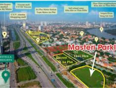 Bán Căn 1PN 57m2 Masteri Parkland P.An Phú Q2 Giá 2 tỷ