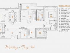 Bán căn hộ Penthouse Vista verde Q2, Sky villa 258m2, full nội thất