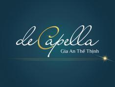 Chung cư De Capella - Nơi xứng đáng ở an cư - Lương Định Của - Quận 2.