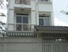 Cho thuê nhà 3 tầng góc 2 mặt tiền đường 16m, có garage ôtô. An Phú, Q2. 25tr/th. 4pn 4wc