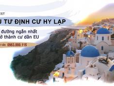 Định cư Hy Lạp- nhận thường trú nhân cho cả gđ!!