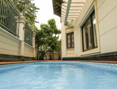 Cho thuê Villa Hồ bơi sân vườn Nguyễn văn hưởng Thảo Điền 250m2 đầy đủ nội thất (MS:72.28.50)