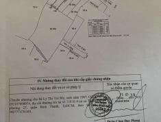 Bán đất MT đường Số 10 Phường Bình Trưng Tây. Q2. DT 85.6m2. Giá 5.1 Tỷ