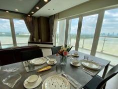 Bán căn hộ Duplex, view sông, dt 235m2, tháp Brillant