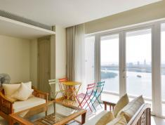 Bán căn hộ 2 phòng ngủ, view sông, dt 125m2, tháp Brillant