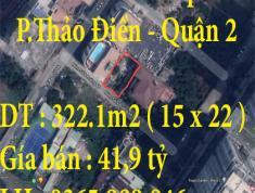 Bán đất khu Compound Thảo Điền,Phường Thảo Điền ,Quận 2, TPHCM 322.1m2