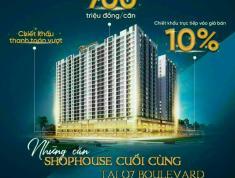 Shophouse Q7 BOULEVARD ngay Phú Mỹ Hưng MT đường Nguyễn Lương Bằng chỉ 8ty/căn trả góp 0% - 0932030061